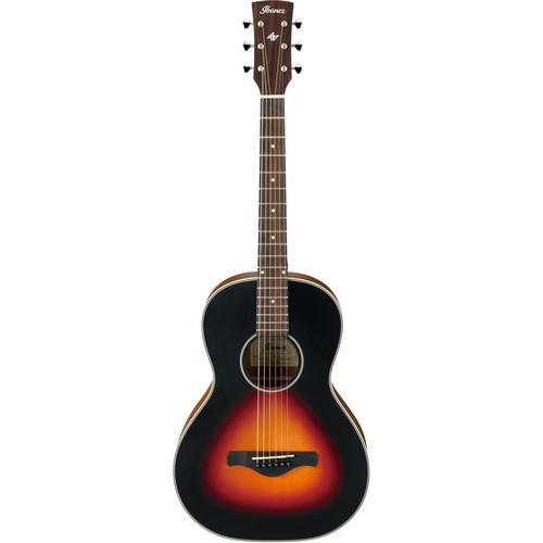 Ibanez AN60 Artwood Series Acoustic Guitar (Brown Sunburst Matte)