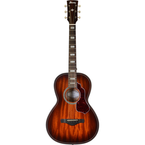 Ibanez Artwood Vintage Series AVN4 Acoustic Guitar Kit with Case, Stand, and Strap