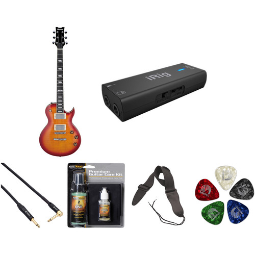 Ibanez ARZ200FM ARZ Standard Series Electric Guitar Recording Starter Kit (Cherry Sunburst)
