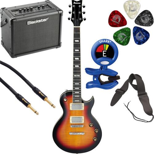 Ibanez ARZ200FM Electric Guitarist's Starter Kit (Tri-Fade Burst)