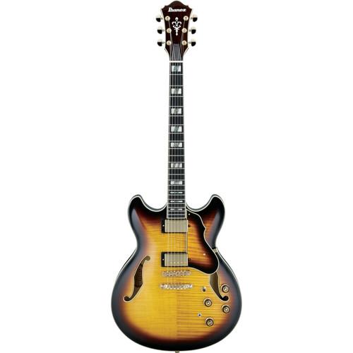 Ibanez AS153 Artstar Series Hollow-Body Electric Guitar (Antique Yellow Sunburstt)