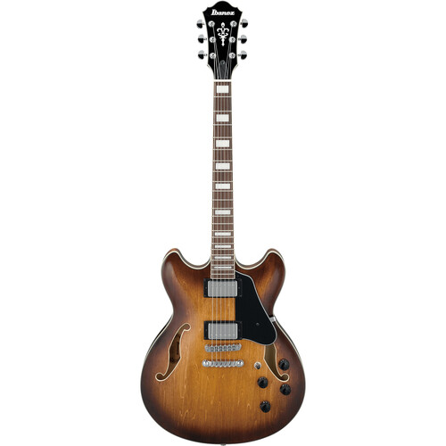 Ibanez AS73 Artcore Series Hollow-Body Electric Guitar (Tobacco Brown)