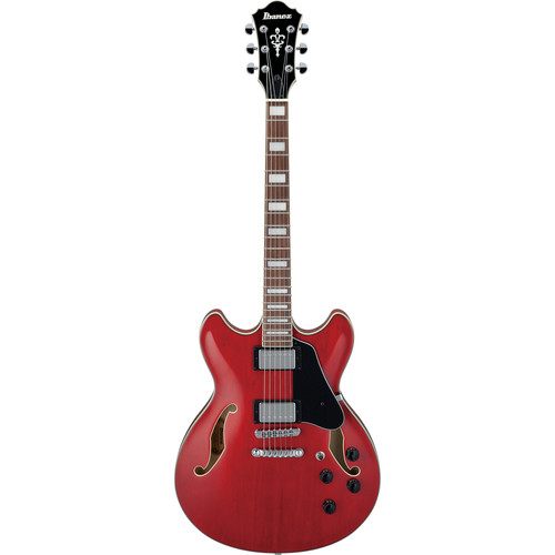 Ibanez AS73 Artcore Series Hollow-Body Electric Guitar (Transparent Cherry Red)