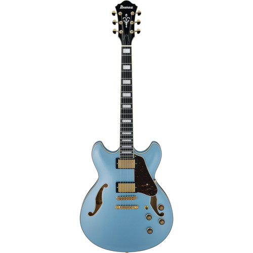 Ibanez AS83 Artcore Expressionist Series Hollow-Body Electric Guitar (Steel Blue)
