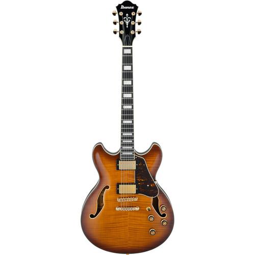Ibanez AS93FM Artcore Expressionist Series Hollow-Body Electric Guitar (Violin Sunburst)