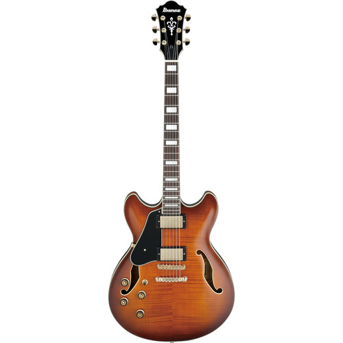 Ibanez AS93 Artcore Expressionist Series Semi-Hollow Body Electric Guitar (Left Handed, Violin Sunburst)