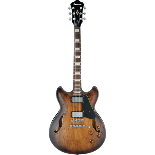 Ibanez ASV10A Artcore Vintage Series Hollow-Body Electric Guitar (Tobacco Burst Low Gloss)