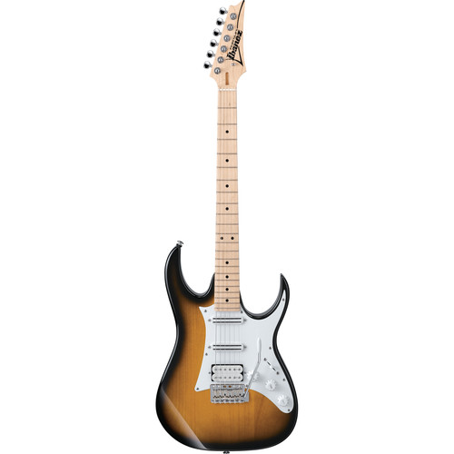 Ibanez Andy Timmons Sig. AT10P 2-Single-Coil & 1-Humbucking Pickup 6-String Electric Guitar/Case(Sunburst)