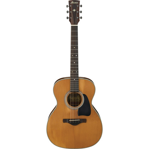 Ibanez AVC11 Artwood Vintage Series Acoustic Guitar (Antique Natural, Semi-Gloss)