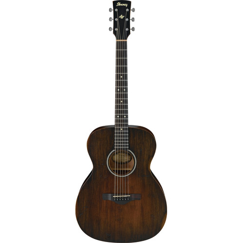 Ibanez AVC6 Artwood Vintage Series Grand Concert Acoustic Guitar (Distressed Tobacco Sunburst)
