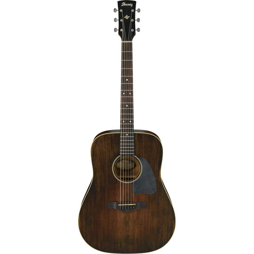 Ibanez AVD6 Artwood Vintage Series Dreadnought Acoustic Guitar (Distressed Tobacco Sunburst)