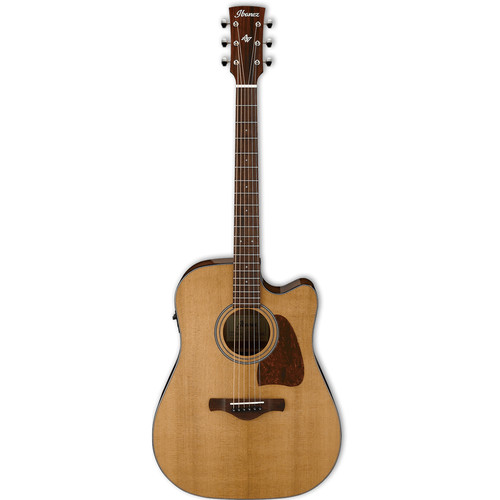 Ibanez AVD9CE Artwood Vintage Series Acoustic/Electric Guitar (Natural High Gloss)