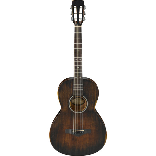 Ibanez AVN6 Artwood Vintage Series Parlor Guitar (Distressed Tobacco Sunburst)