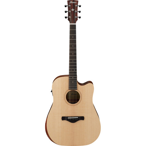Ibanez AW150CE Artwood Series Acoustic/Electric Guitar (Open Pore Natural)
