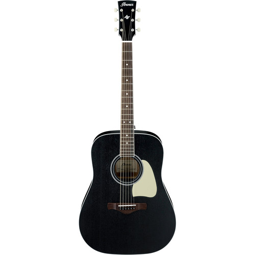 Ibanez AW360 Artwood Series Acoustic Guitar (Weathered Black, Open Pore)