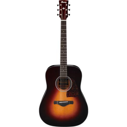 Ibanez AW400 Artwood Series Acoustic Guitar (Brown Sunburst)