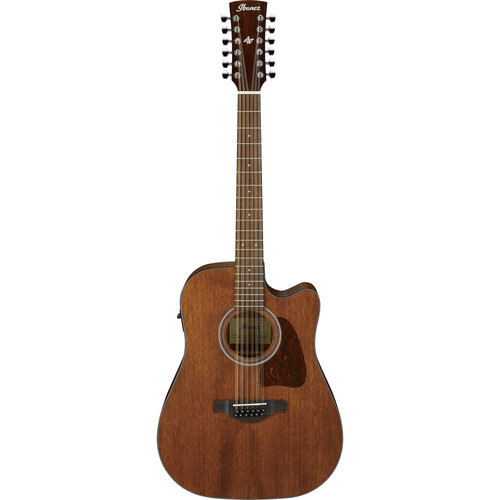 Ibanez AW5412CE Artwood Series 12-String Acoustic/Electric Guitar (Open Pore Natural)
