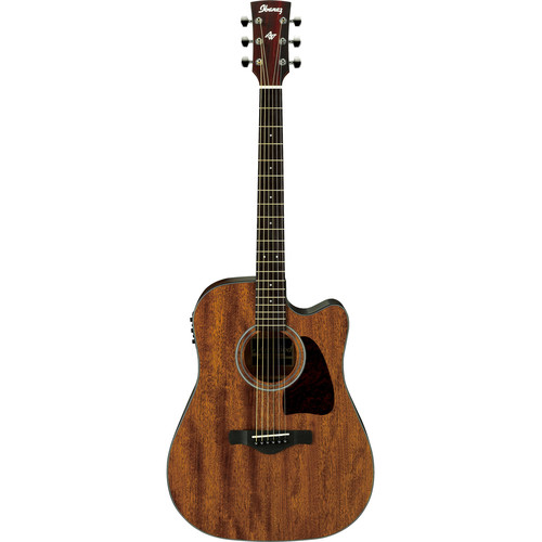 Ibanez AW54CE Artwood Series Acoustic/Electric Guitar (Open Pore Natural)