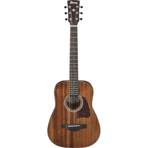 Ibanez AW54MINI Artwood Series 3/4-Size Dreadnought Acoustic Guitar (Open Pore Natural)