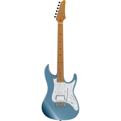 Ibanez AZ Prestige 6-String Electric Guitar with Case (Ice Blue Metallic)