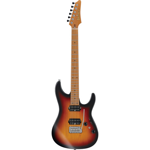 Ibanez AZ Prestige 6-String Electric Guitar with Case (Tri Fade Burst Flat)
