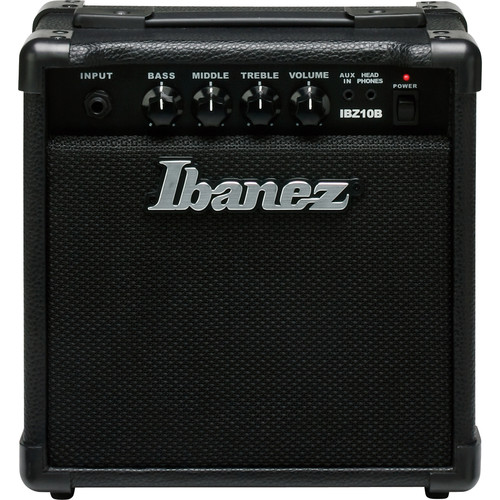 Ibanez Bass Combo Amp & Essential Accessories for Bass Guitar Kit with Picks, Strap, Stand, Tuner, and Cable