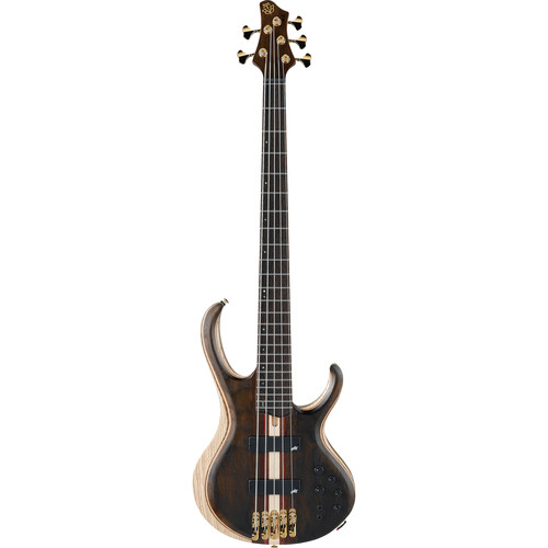 Ibanez BTB1925E Premium Series 5-String Electric Bass (Natural Low Gloss)