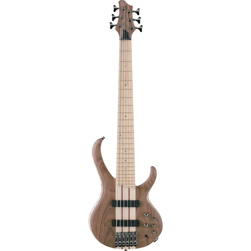 Ibanez BTB676MNTF Six-String Electric Bass Guitar (Natural)