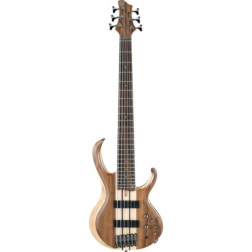 Ibanez BTB746 BTB Standard 6-String Electric Bass Guitar (Natural Low Gloss)