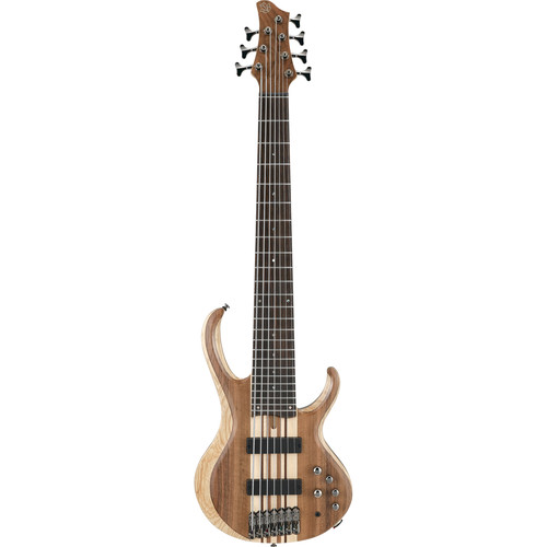 Ibanez BTB747 7-String Electric Bass (Natural Low Gloss)