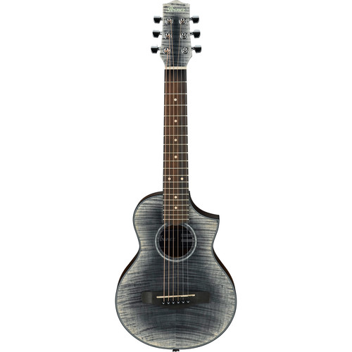 Ibanez EWP32FM EWP Series Acoustic Guitar (Glacier Black Low Gloss)