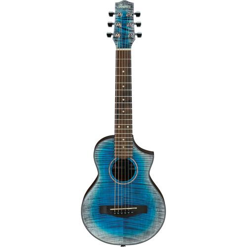 Ibanez EWP32FM EWP Series Acoustic Guitar (Glacier Blue Low Gloss)