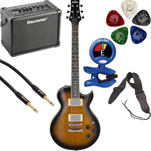 Ibanez GART60FA GIO Series Electric Guitar Starter Kit (Sunburst)