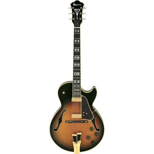 Ibanez GB10 George Benson Signature Series Electric Guitar (Brown Sunburst)