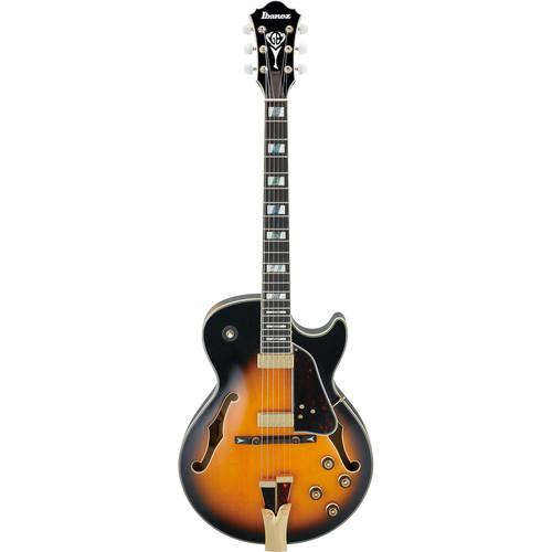 Ibanez GB10SE George Benson Signature Series Electric Guitar (Brown Sunburst)