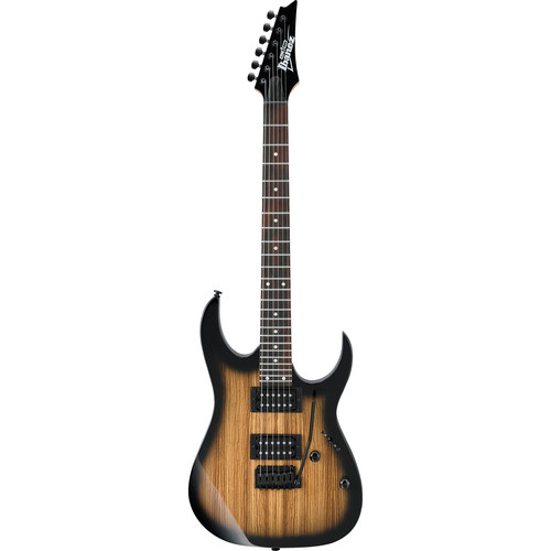 Ibanez GRG120ZW GIO Series Electric Guitar (Natural Gray Burst)