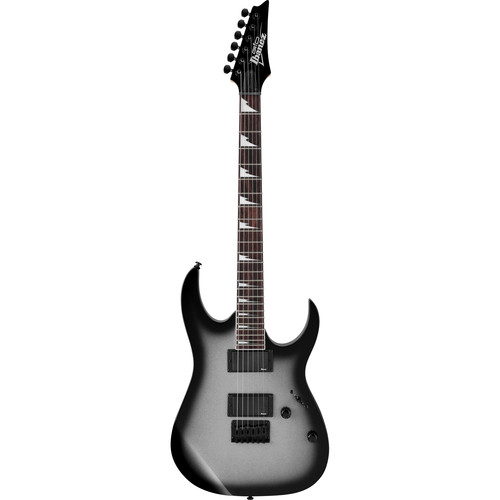 Ibanez GRG121DX GIO Series Electric Guitar (Metallic Gray Sunburst)