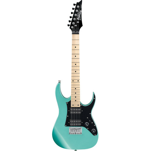 Ibanez GRGM21M miKro Series Electric Guitar (Metallic Light Green)