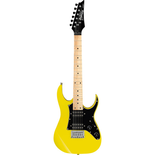 Ibanez GRGM21M miKro Series Electric Guitar (Yellow)