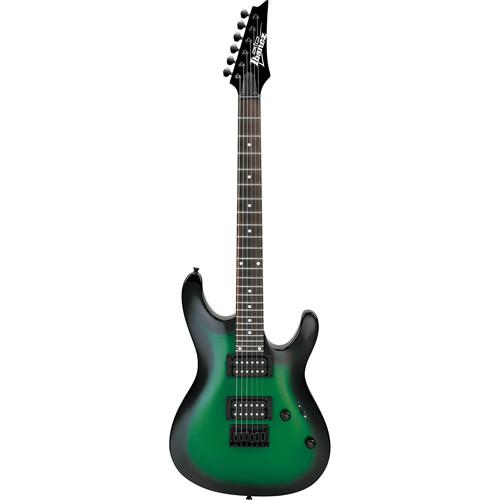Ibanez GS221 GIO Series Electric Guitar (Metallic Green Sunburst)