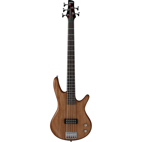 Ibanez GSR105EXMOL GIO Series 5-String Electric Bass Guitar (Mahogany Oil)