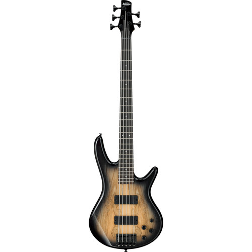 Ibanez GSR205SMNGT Gio Series 5-String Electric Bass Guitar (Natural Gray Burst)