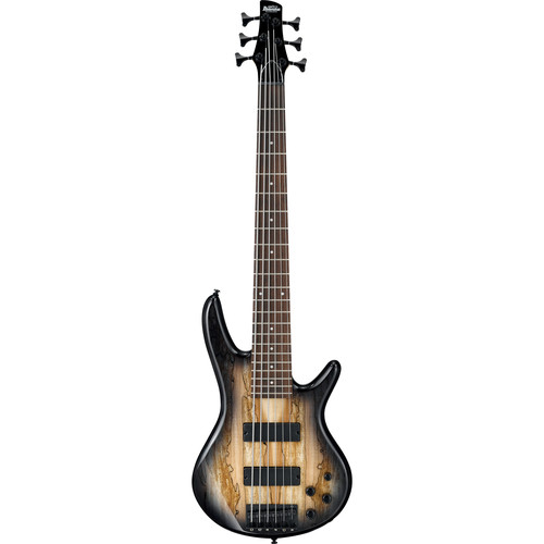 Ibanez GSR206SM GIO Series 6-String Electric Bass (Natural Gray Burst)