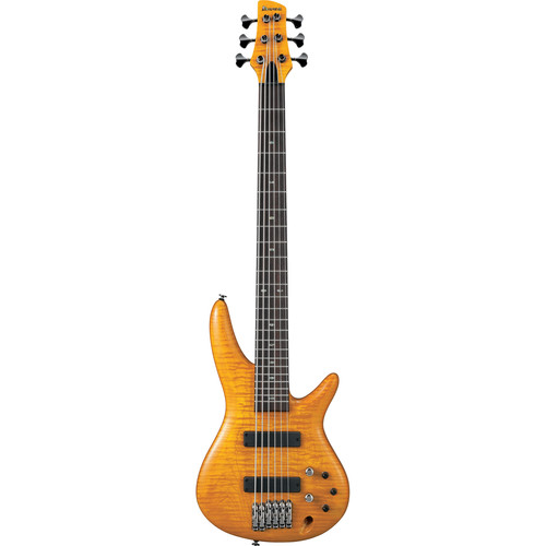 Ibanez GVB1006 Gerald Veasley Signature Series 6-String Electric Bass (Amber)