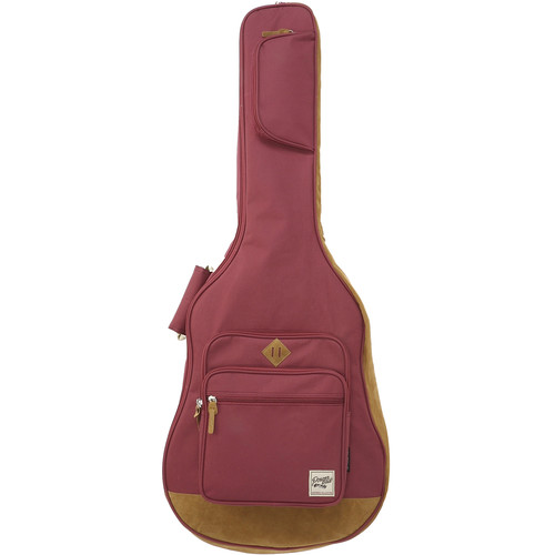 Ibanez Powerpad Gig Bag for Electric/Acoustic Guitar (Wine Red)