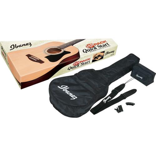 Ibanez IJV50 JAMPACK Acoustic Guitar Package (Natural)