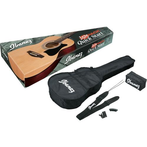Ibanez IJVC50 JAMPACK Acoustic Guitar Package (Natural)