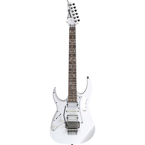 Ibanez JEMJRL Steve Vai Signature Series Electric Guitar (Left-Handed, White)