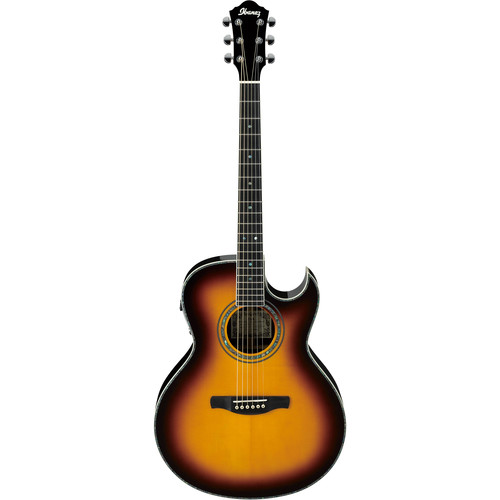Ibanez JSA20 Joe Satriani Series Acoustic/Electric Guitar (Vintage Burst High Gloss)