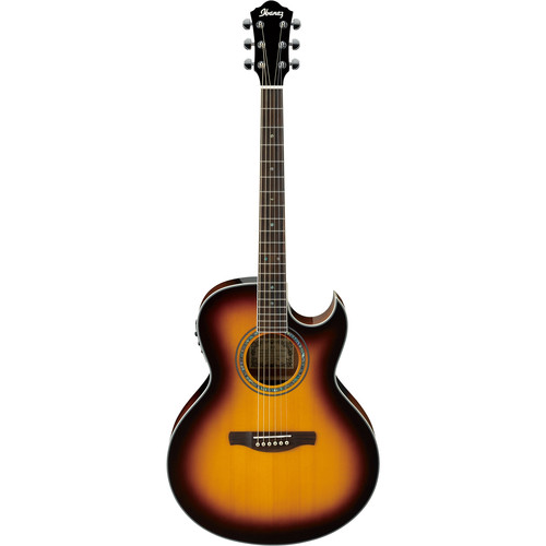 Ibanez JSA5 Joe Satriani Series Acoustic/Electric Guitar (Vintage Burst High Gloss)